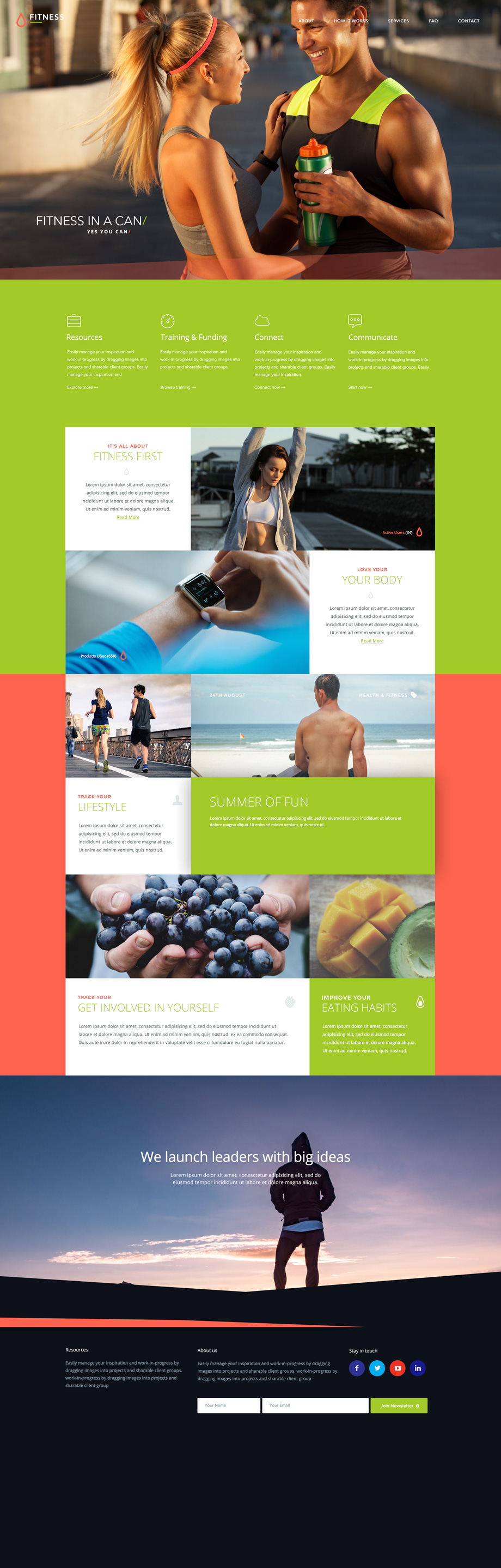 fitness-free-photoshop-psd-template