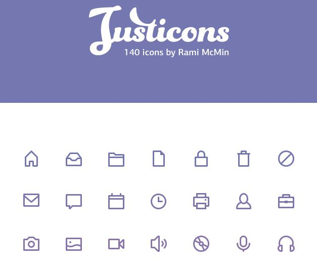 free-140-justicons-stroke-icons-psd