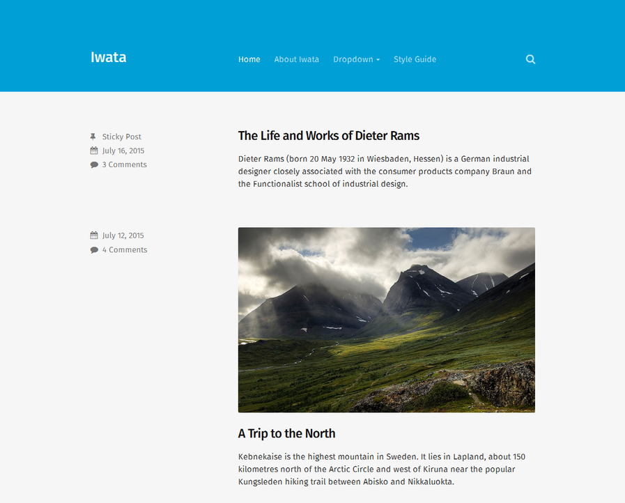 iwata-free-blog-wordpress-theme