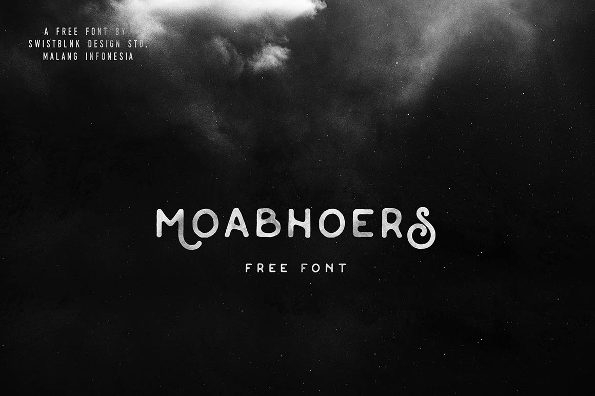 moabhoers-free-vintage-font