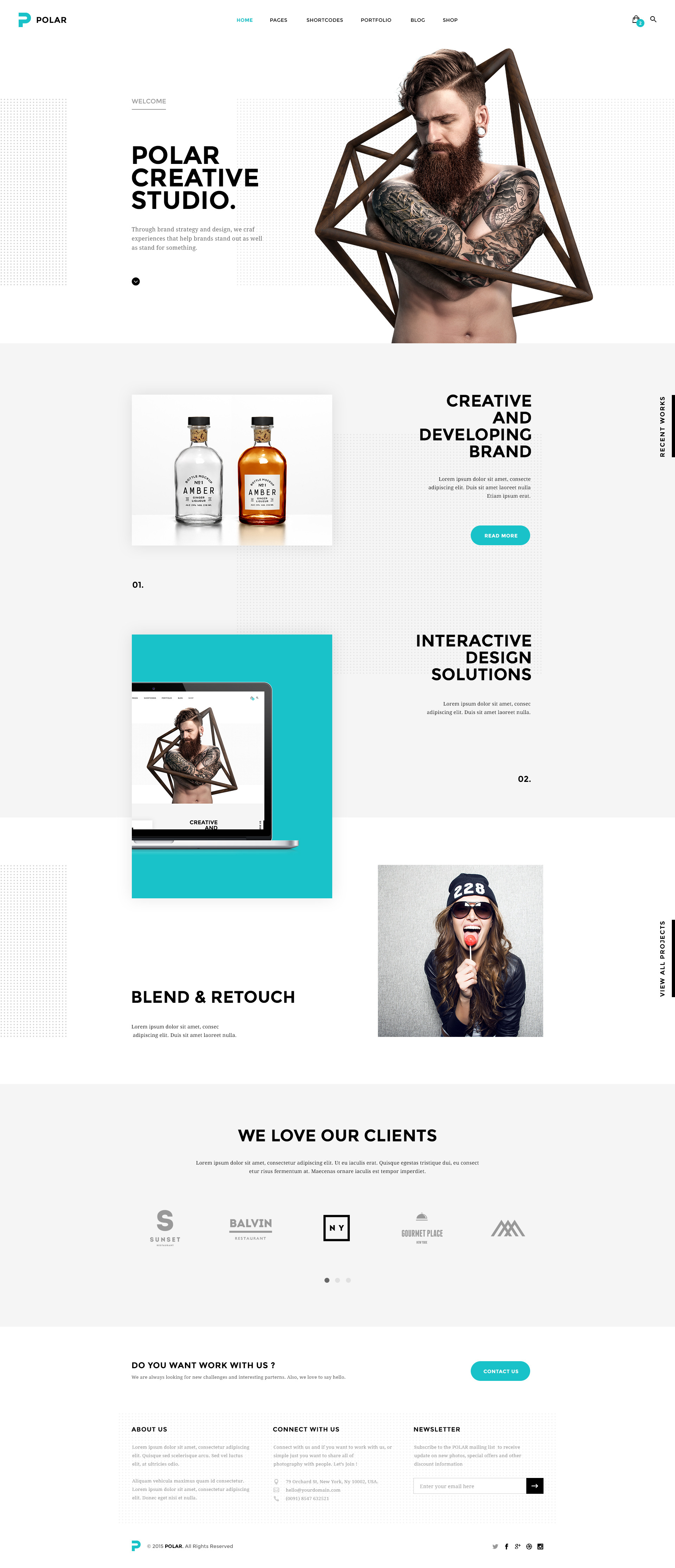 polar-responsive-multipurpose-psd-template