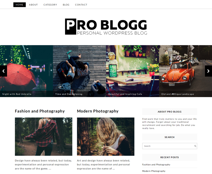 problogg-free-wordpress-theme
