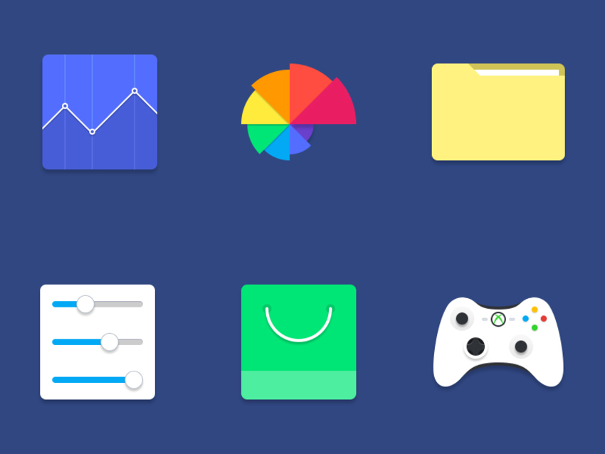 slick-material-icons