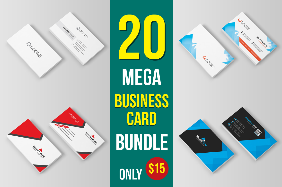 20-Business-Card-Bundle