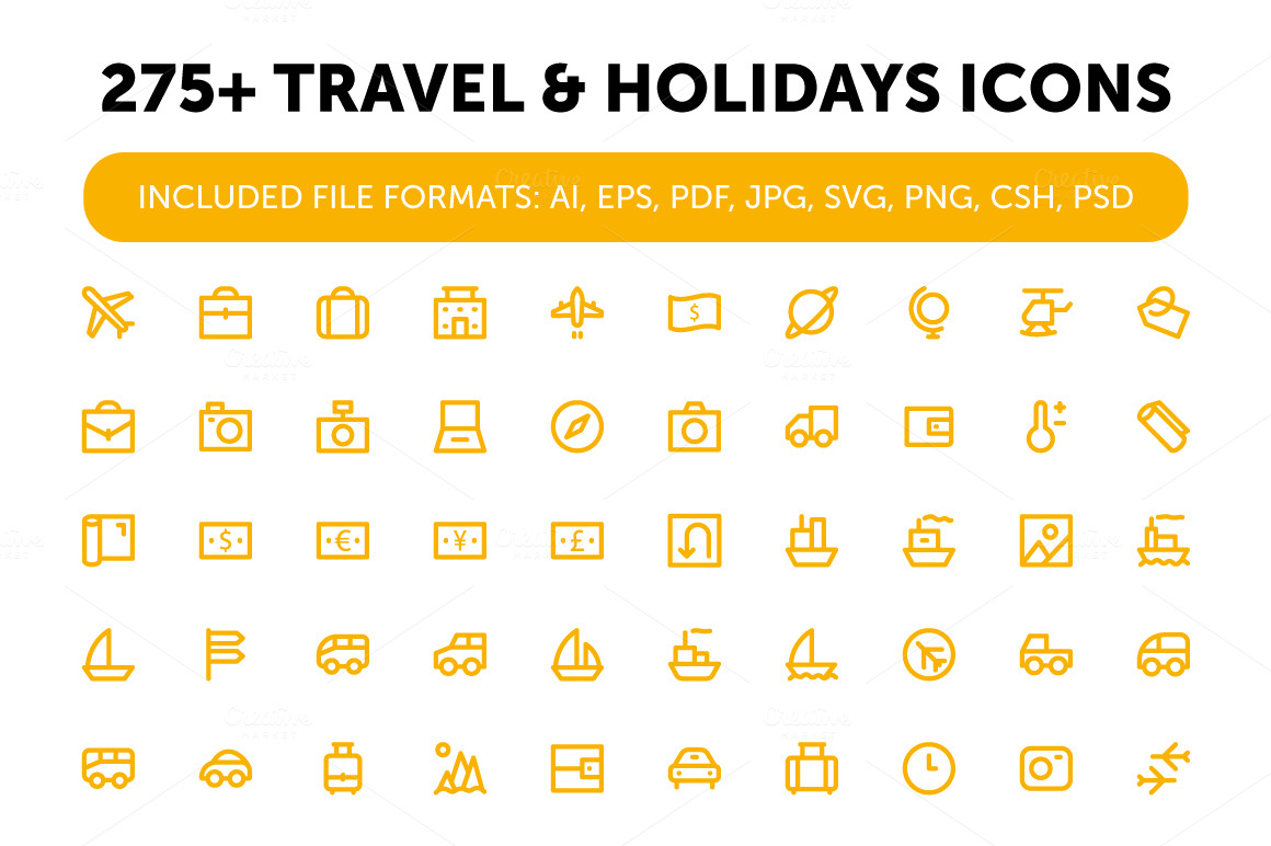 275-Travel-and-Holidays-Icons
