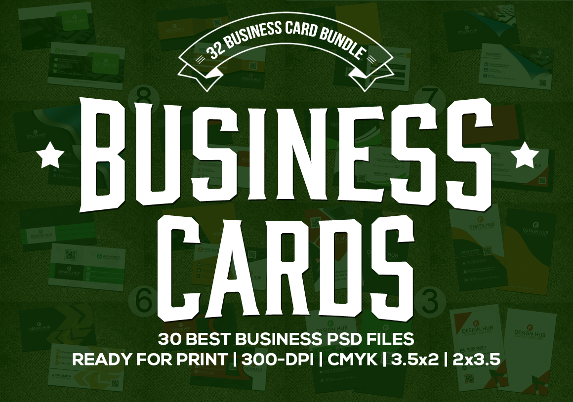 32-Stylish-Business-cards-Bundle