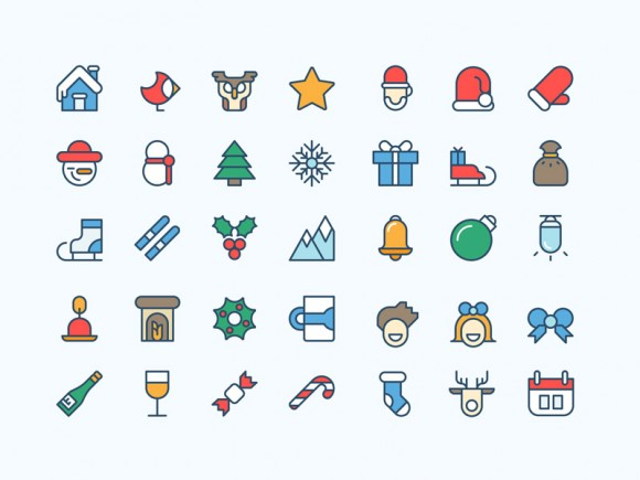 36-coloured-christmas-ai-icons