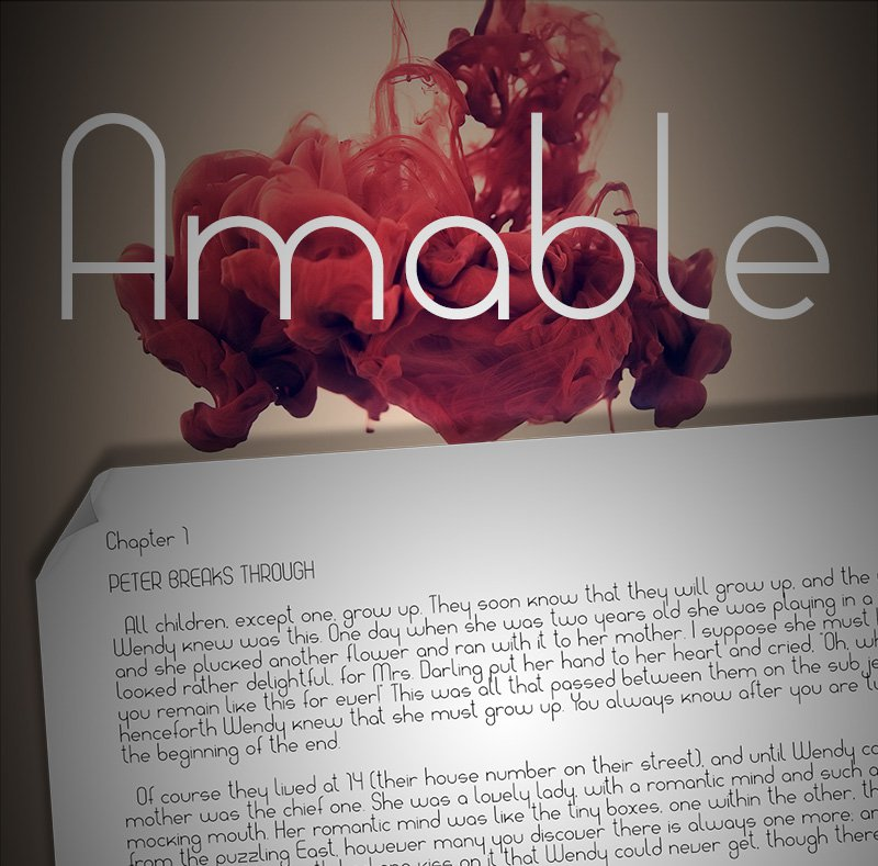 Amable-Font