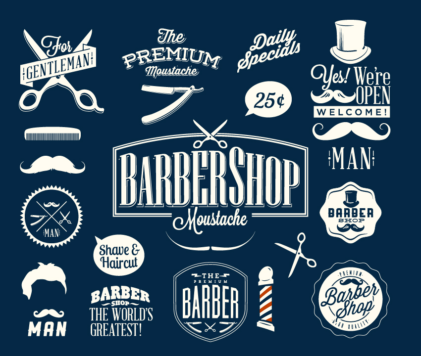 Barber-Shop-Emblems