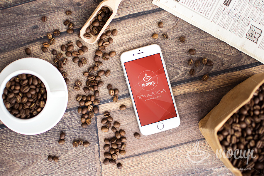 Coffee-Branding-iPhone-6-Mockup