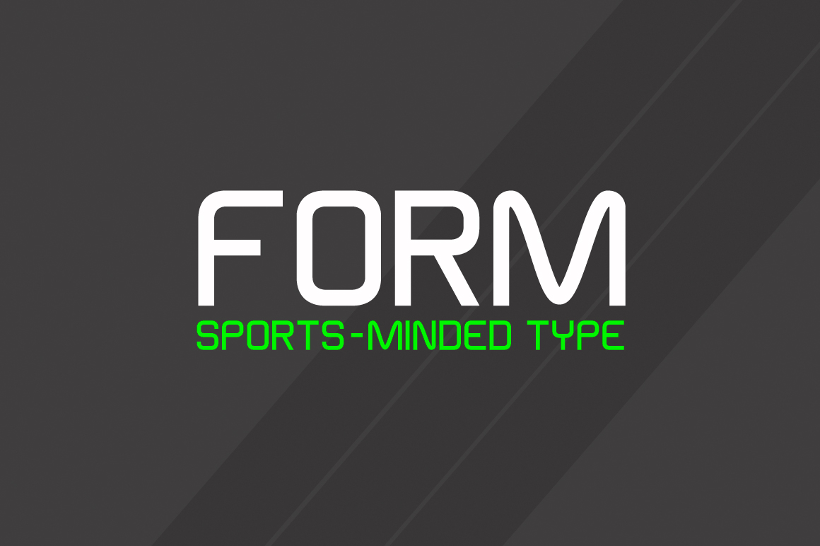Form-Typeface