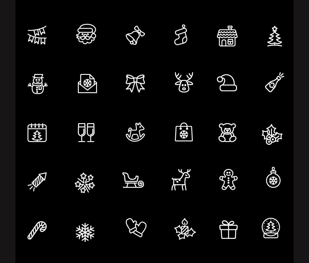 Free-Christmas-Icons-PSD