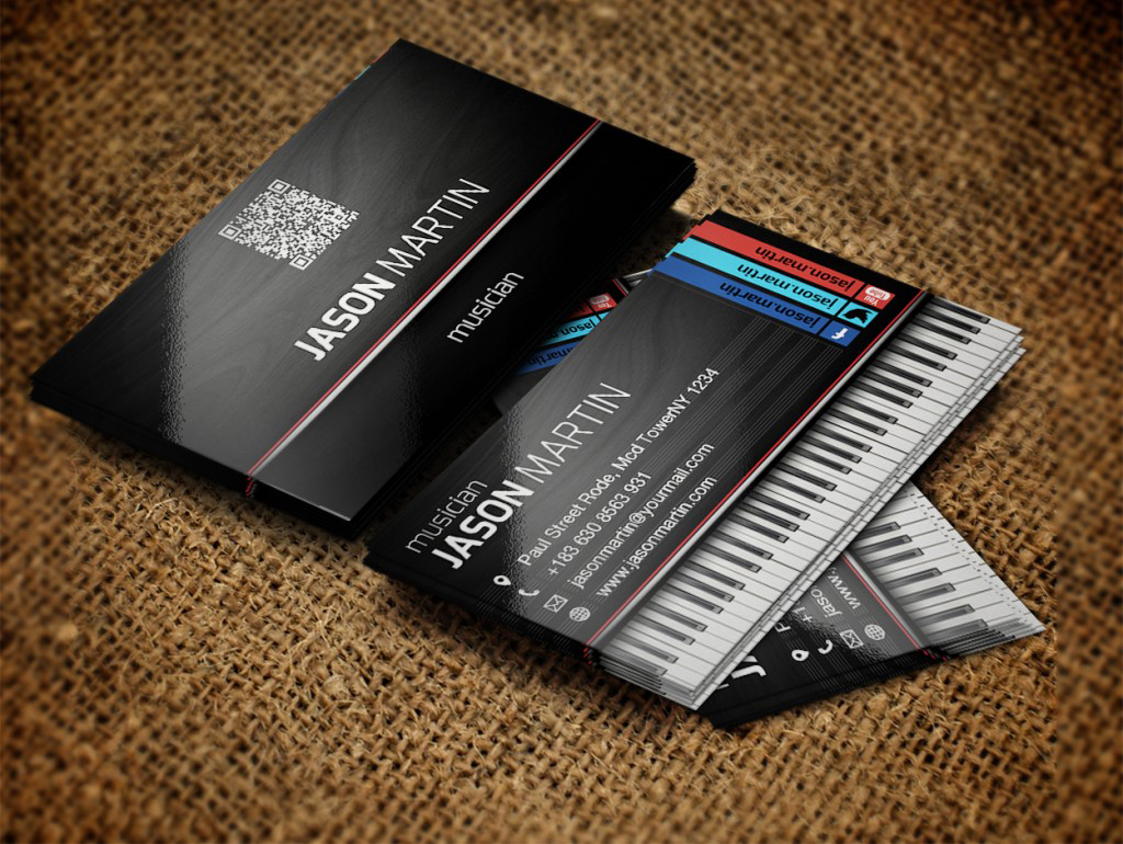Free-Musician-Business-Card