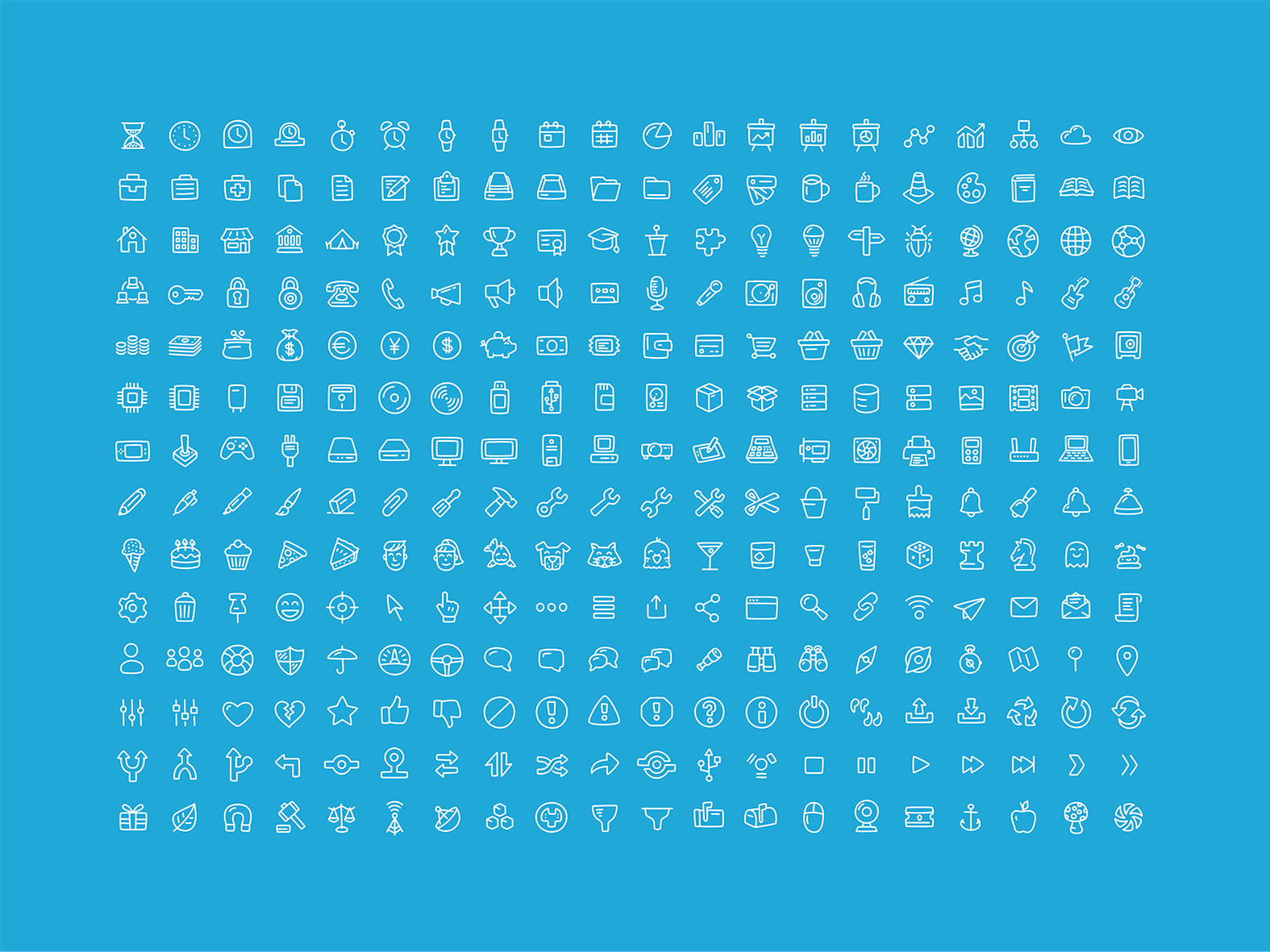 Free-Office-General-Icons