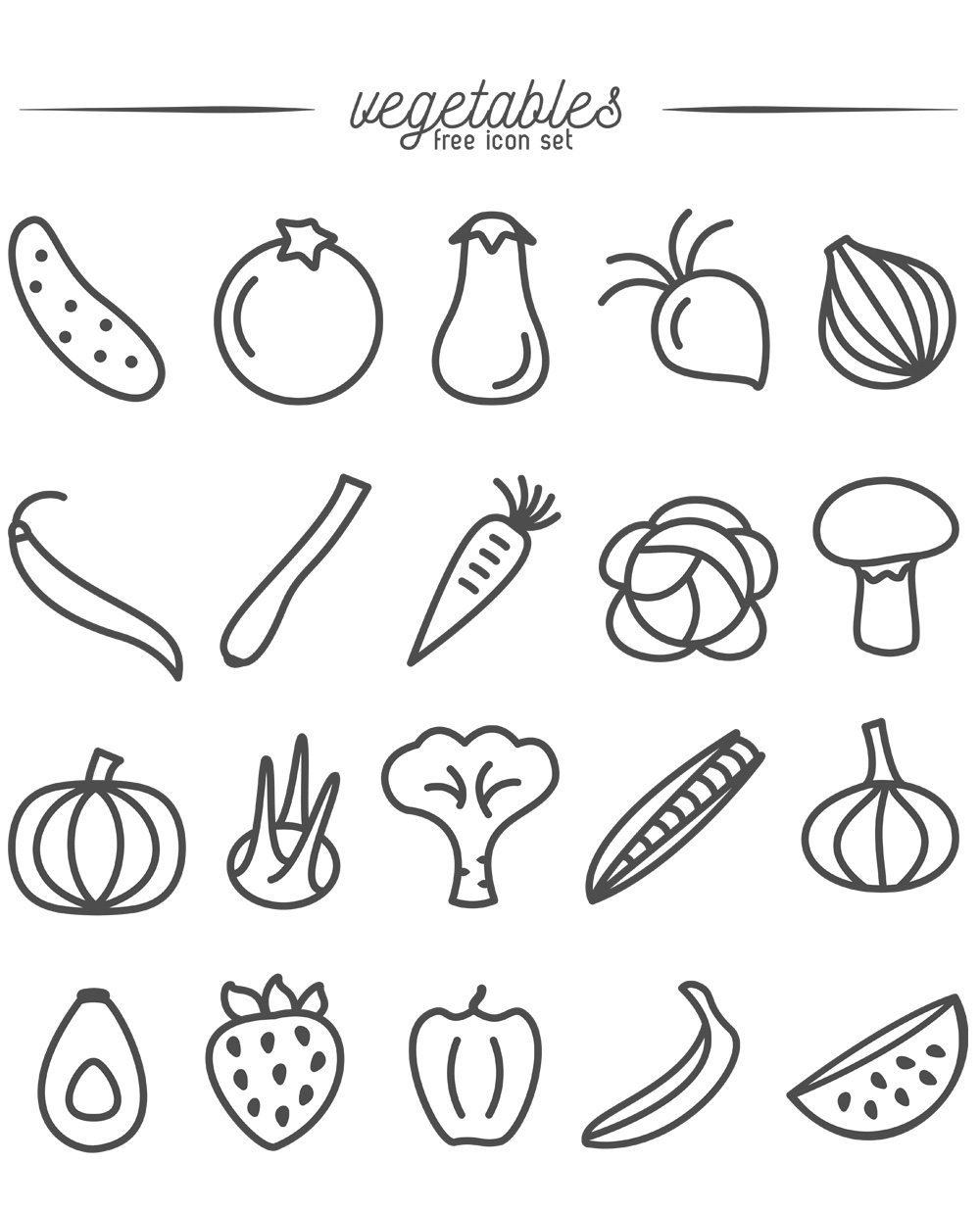 Free-Vegetables-and-Fruits-Icons