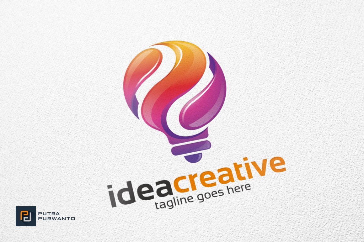 Idea-Creative-Bulb-Logo