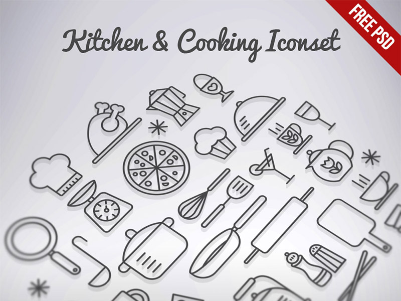 Kitchen-Cooking-Outline-Iconset-Free-PSD