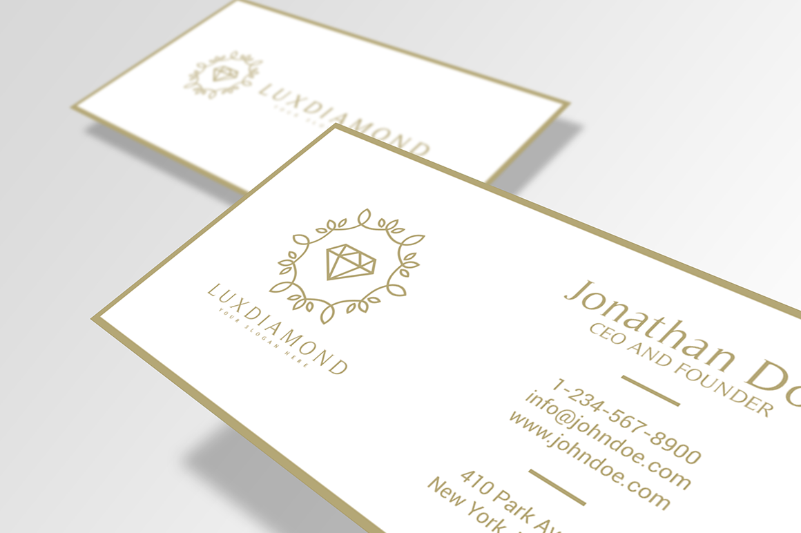 LuxDiamond-Business-Card