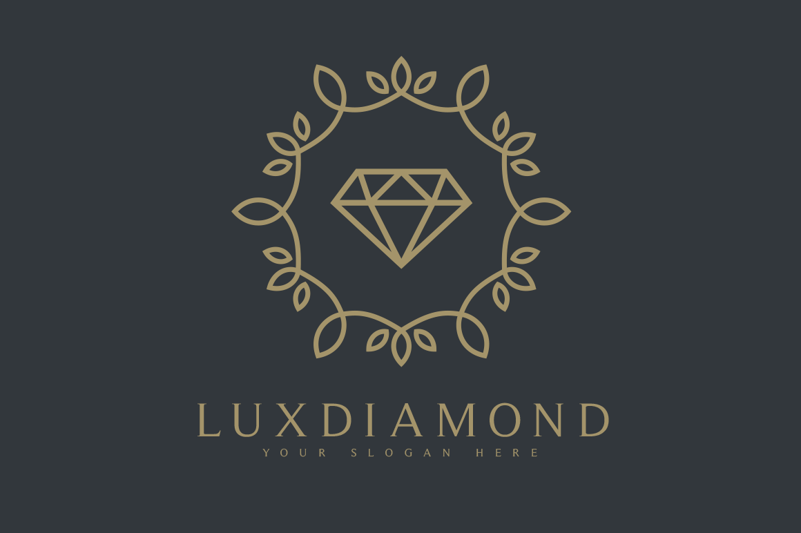 LuxDiamond-Logo-Business-Card-Free
