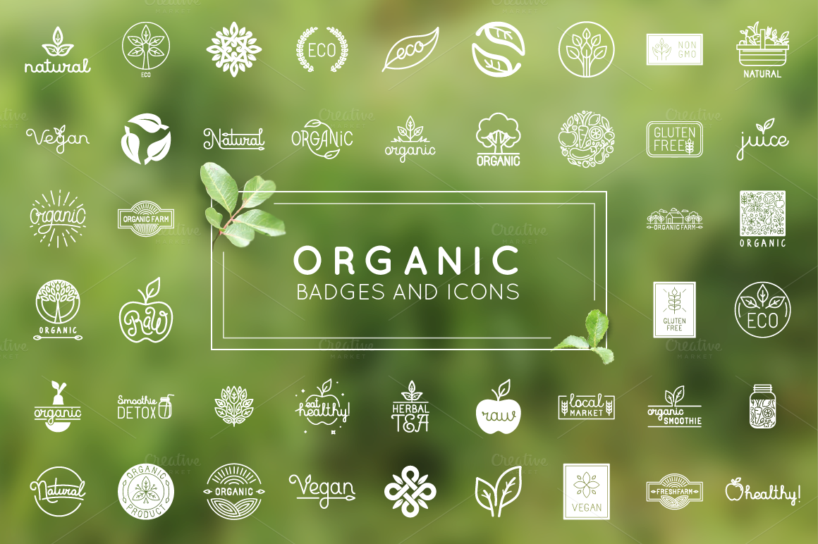 Organic-natural-and-vegan-badges
