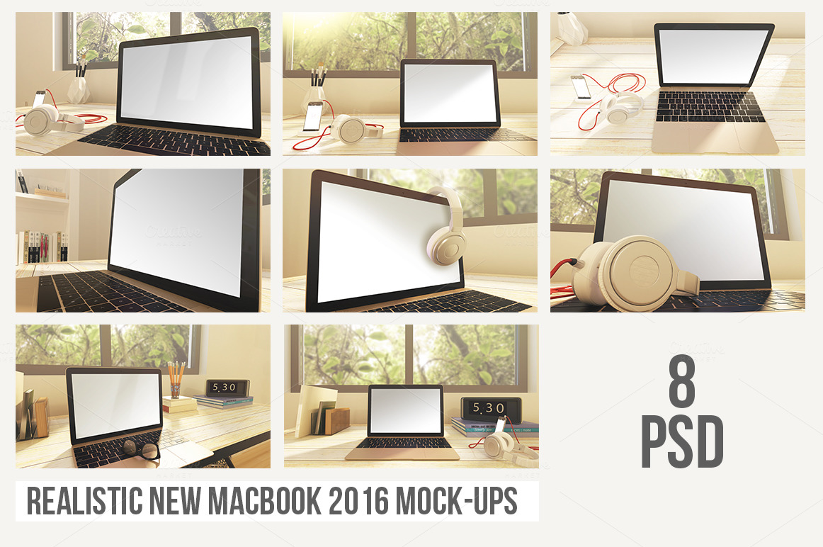 Realistic-New-MacBook-2016-Mock-Ups