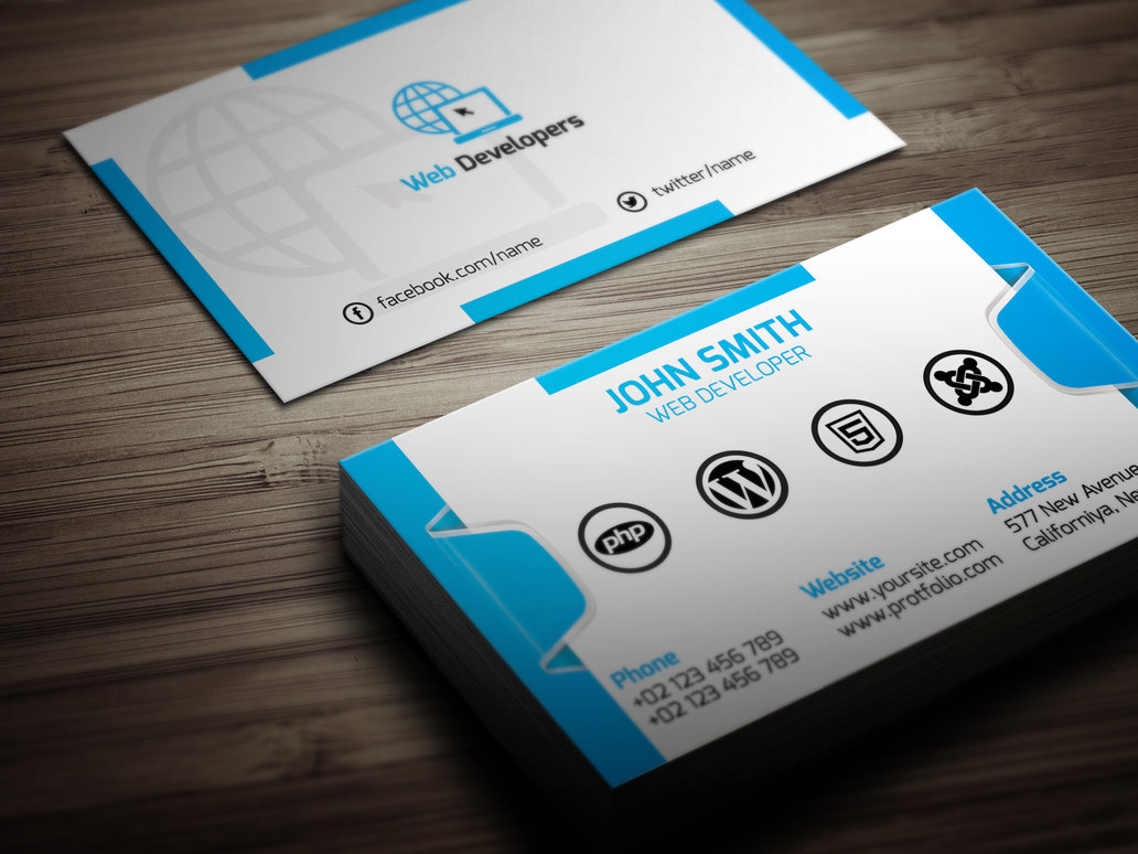 Web-Developer-Business-Card