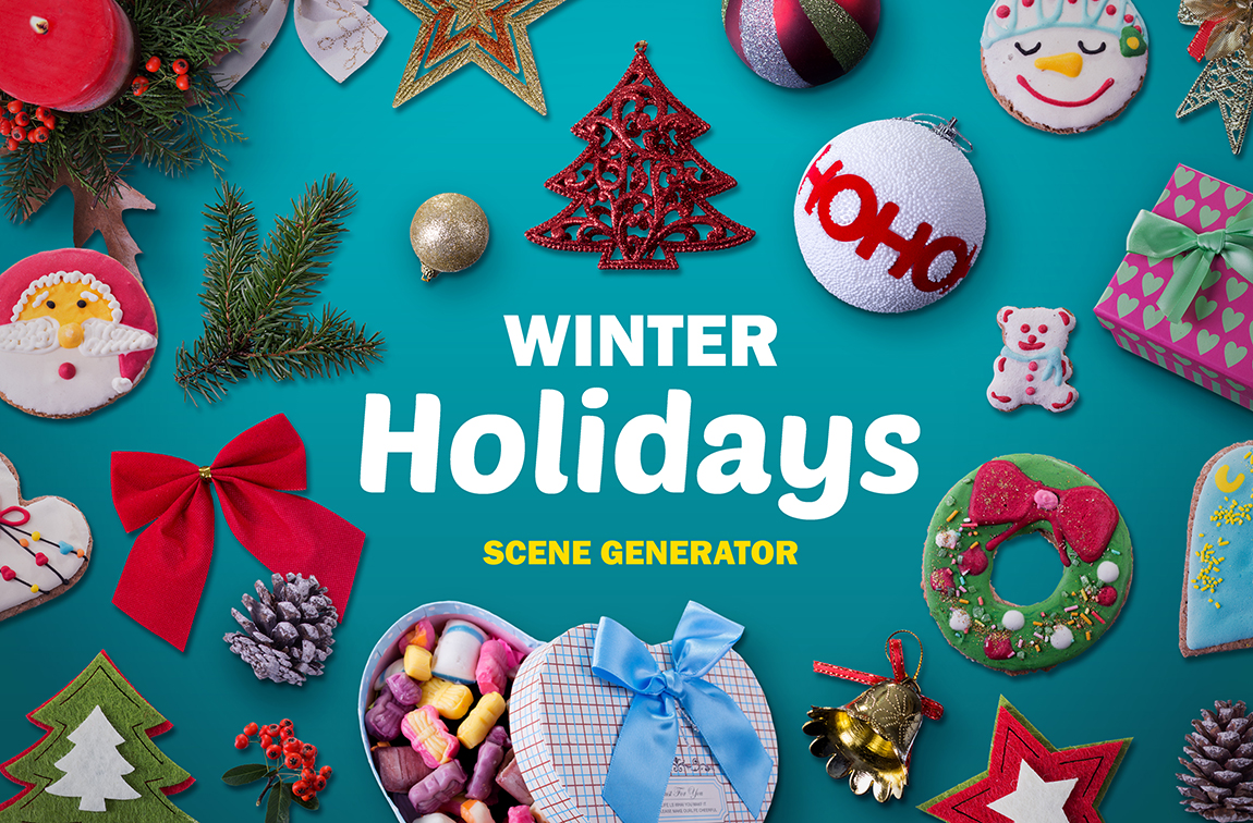 Winter-Holidays-scene-generator