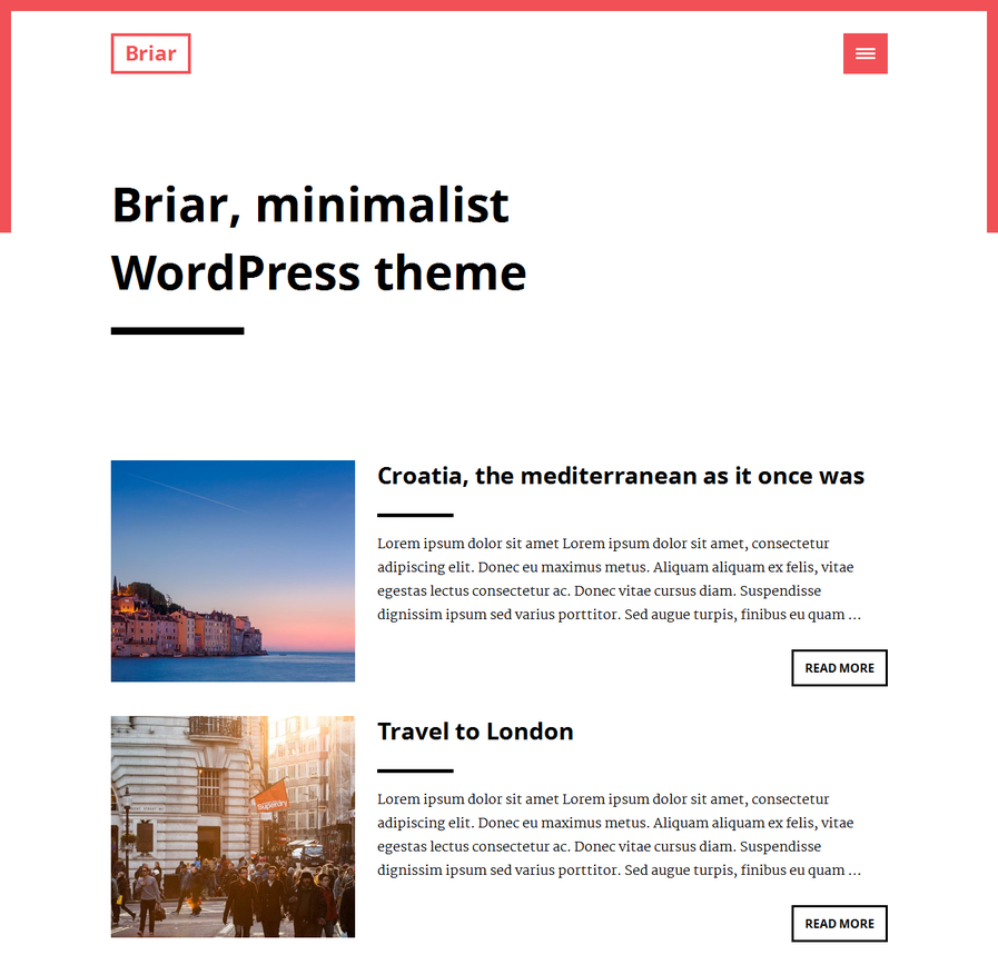 briar-free-minimalist-wordpress-theme
