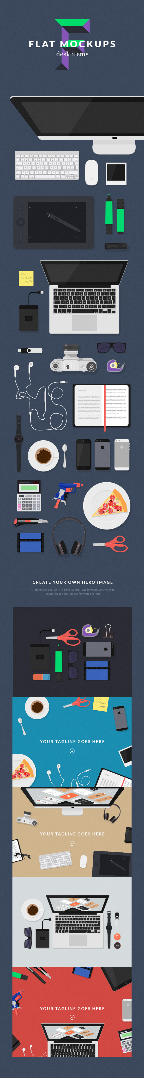 flat-mockups-desk-items