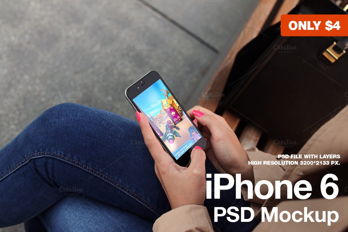 iPhone-6-Black-PSD-Mockup