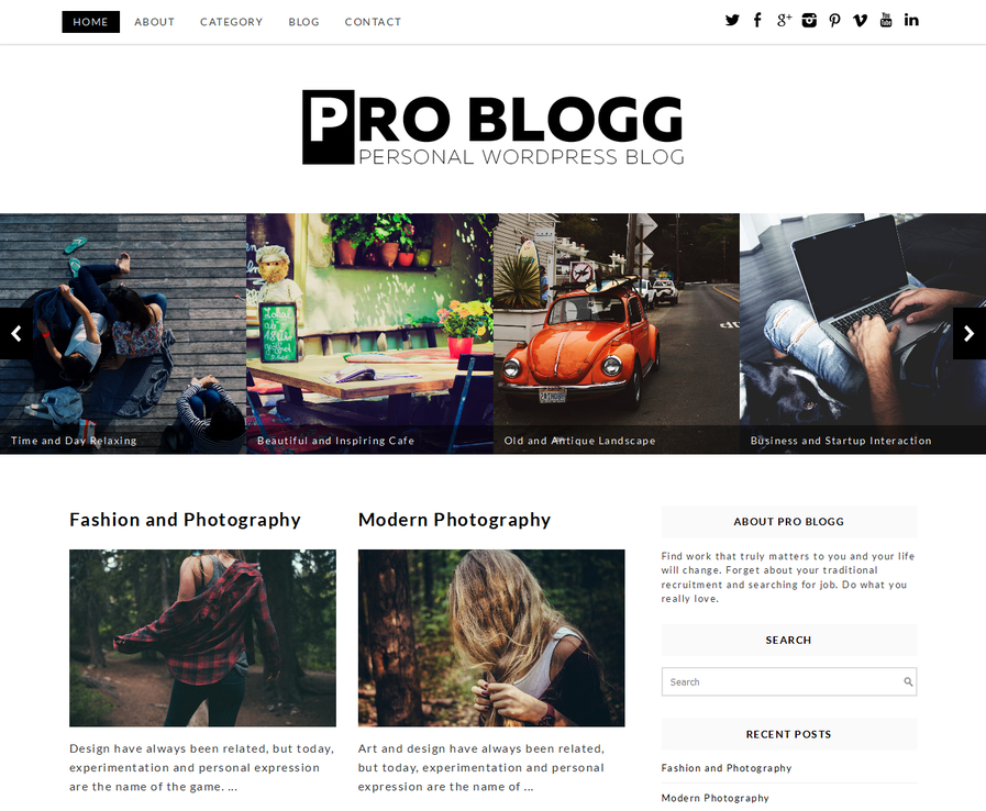 pro-blogg-free-blog-wordpress-theme