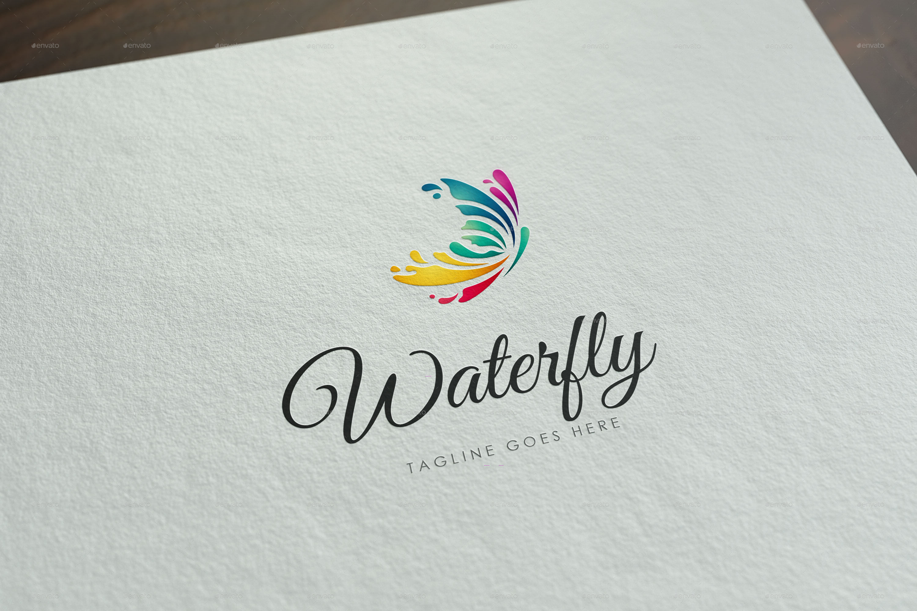 waterfly-logo-template