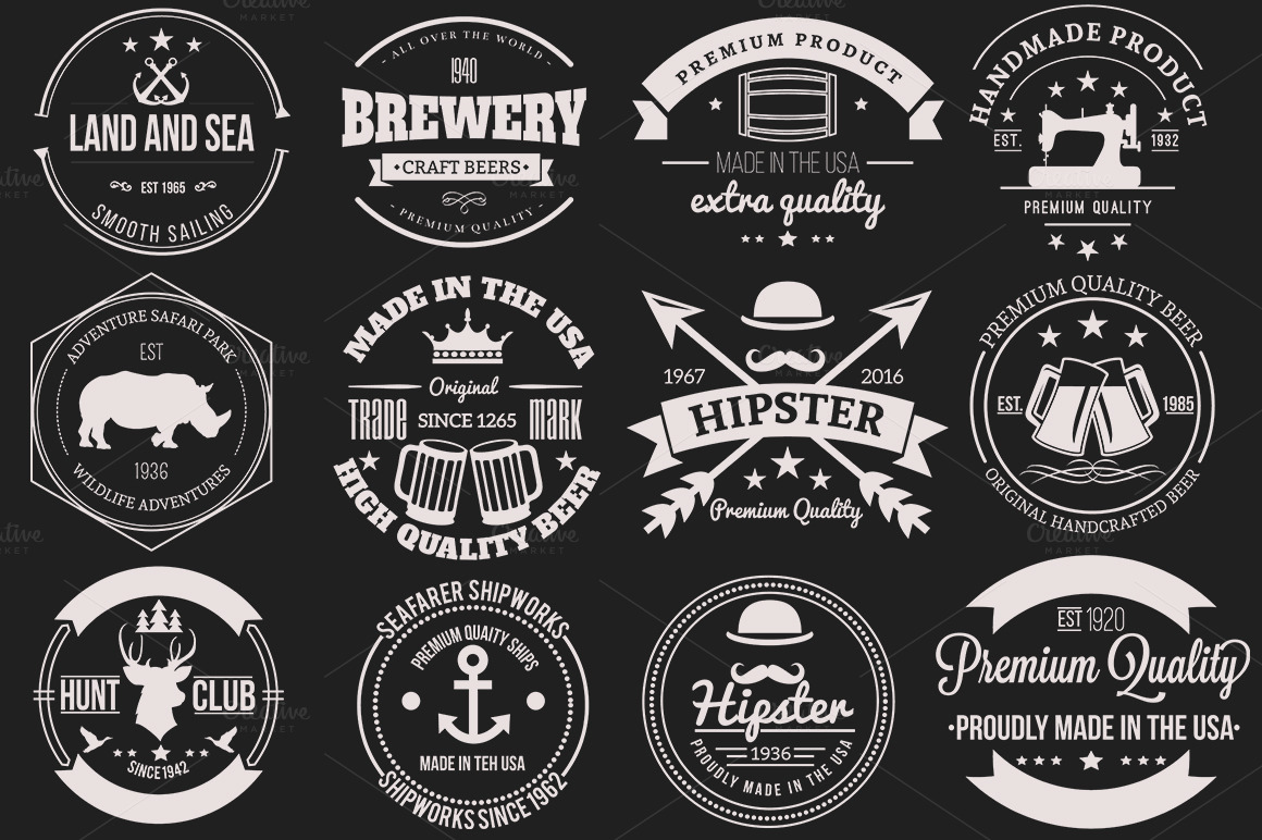 12-Retro-Badges-and-Labels