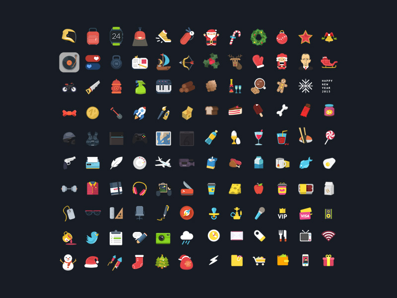 120-colorful-ficons-icons