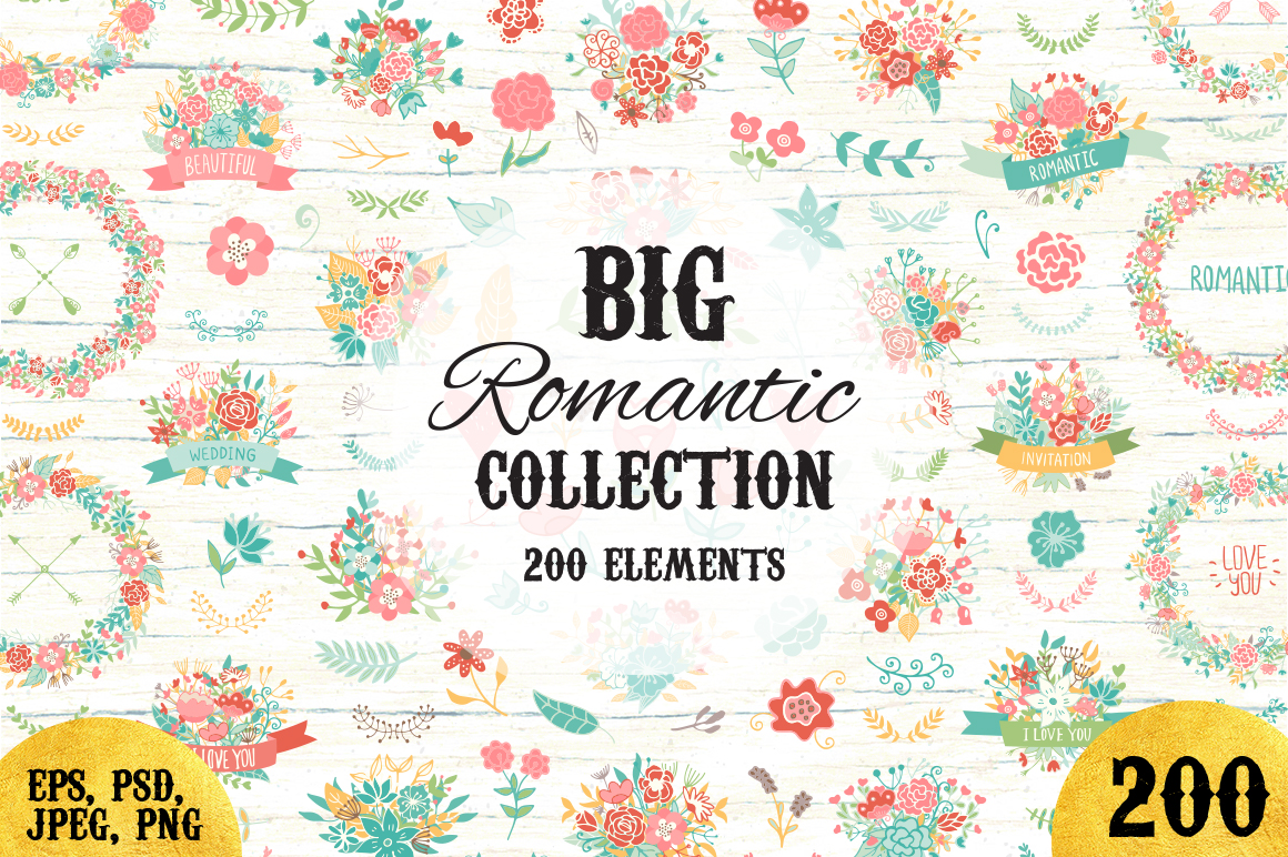 200-Wedding-Floral-Romantic-set-2