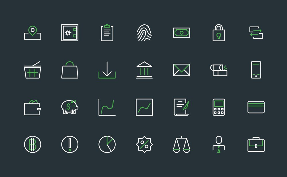 Banking-Icons