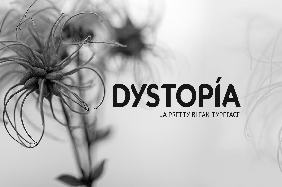 Dystopia-Typeface