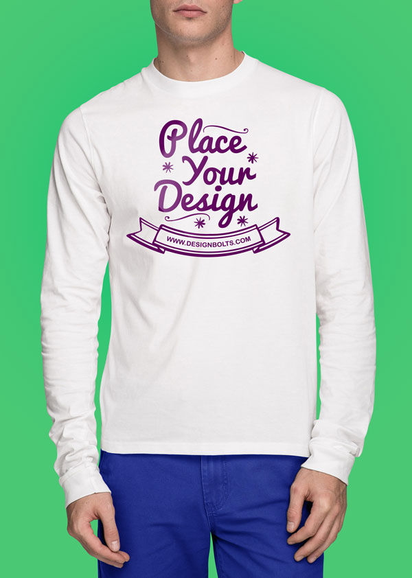Free-White-T-shirt-Mock-up-PSD