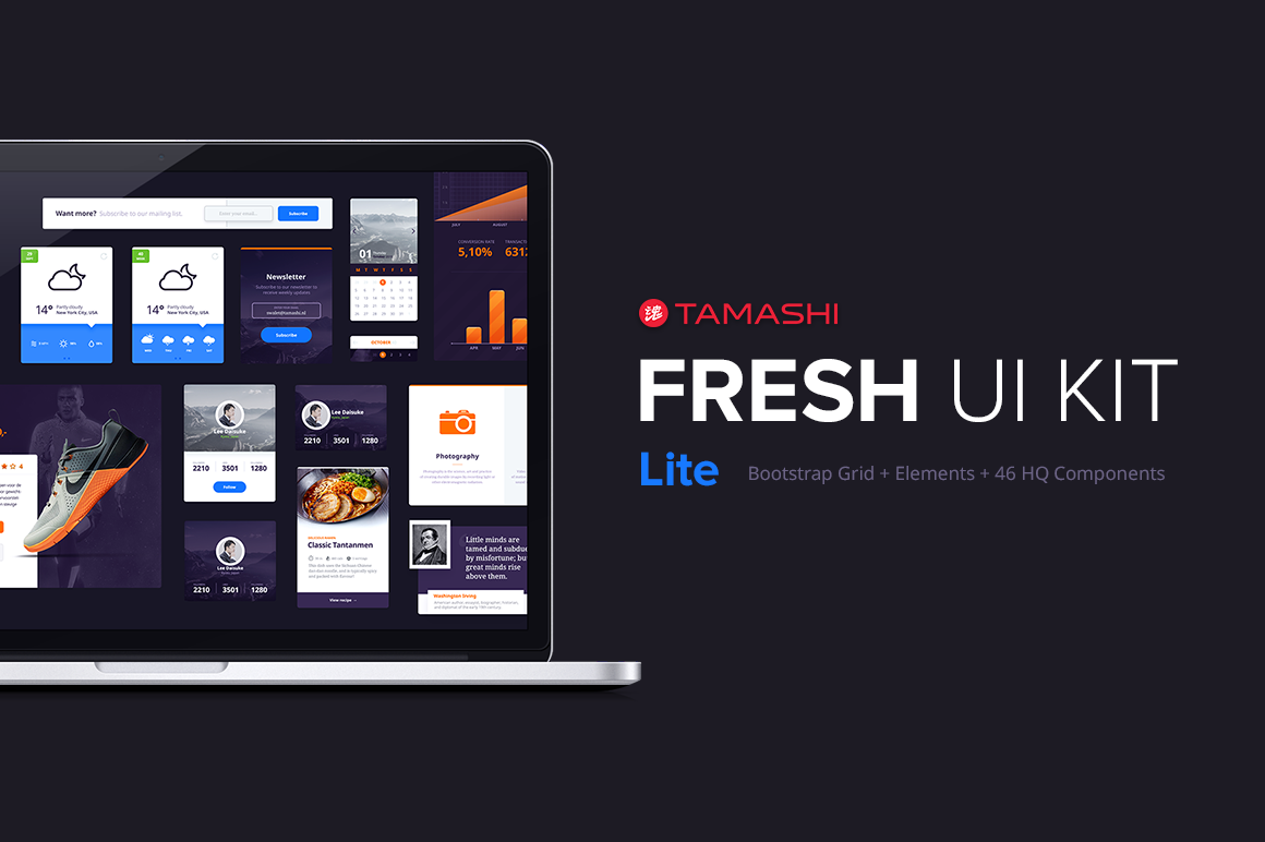 Fresh-UI-Kit-Lite