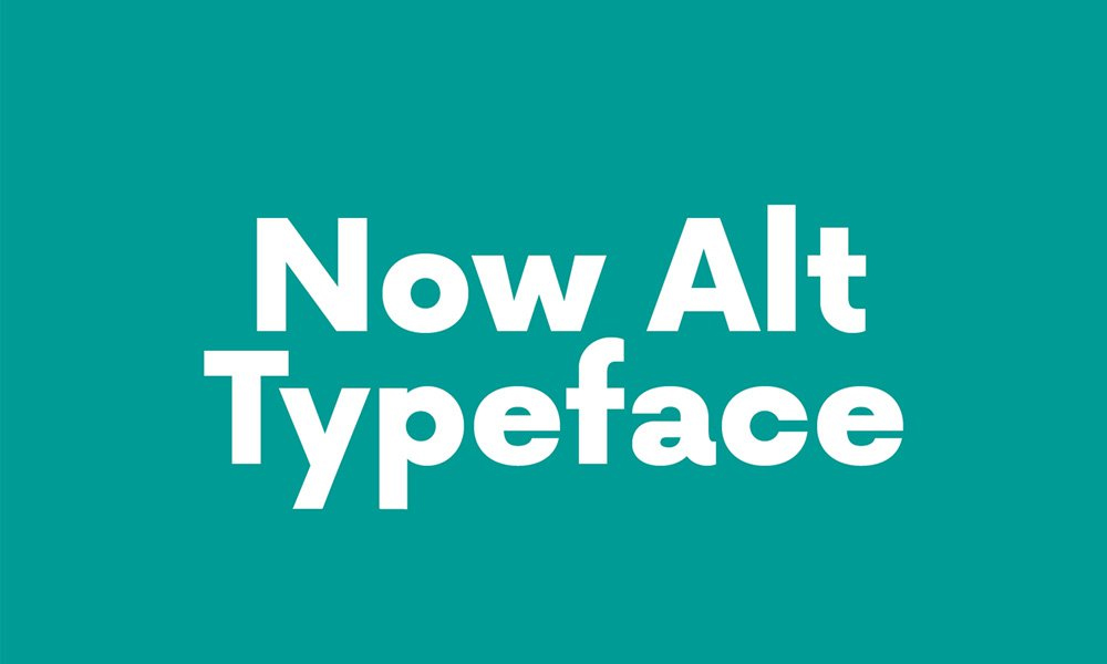 Now-Alt-Typeface