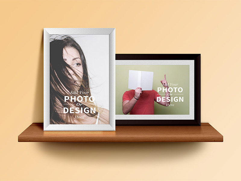 Photo-Frames-on-the-Shelf