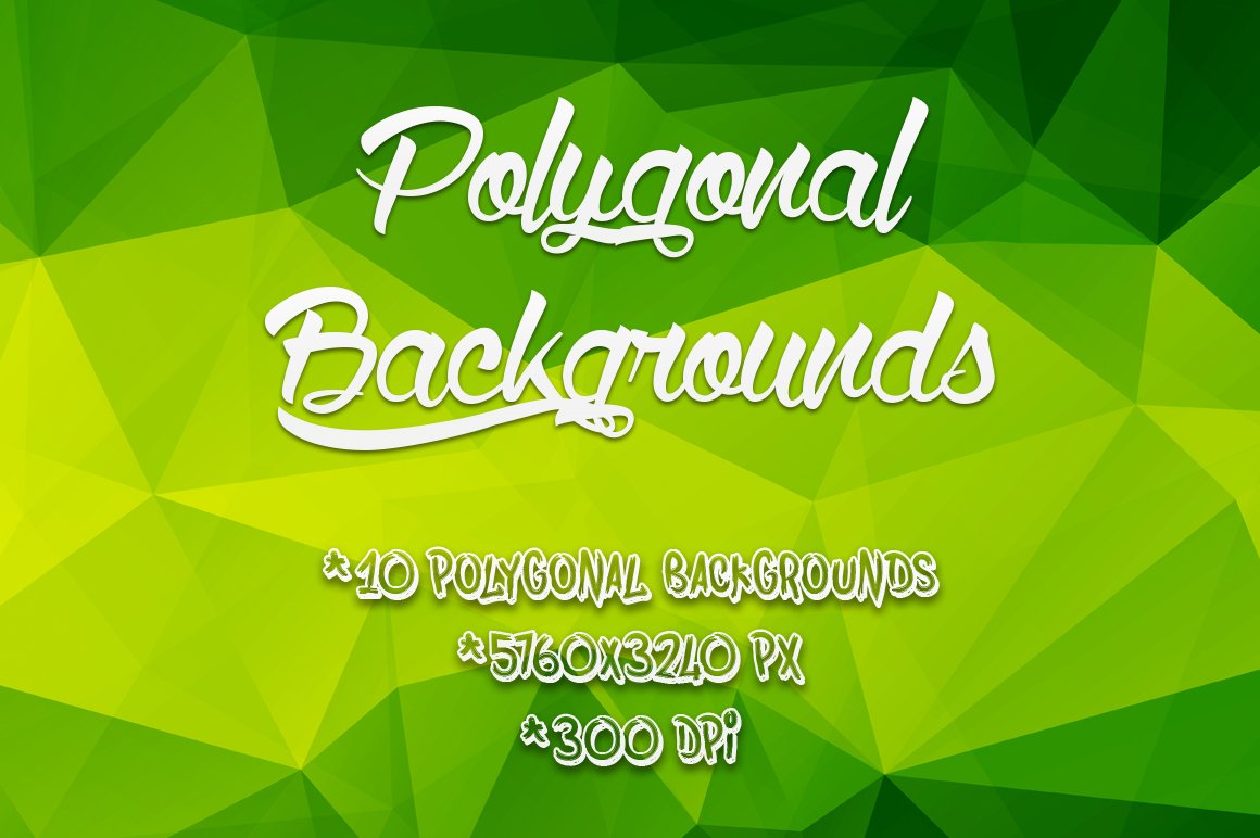 Polygonal-Backgrounds