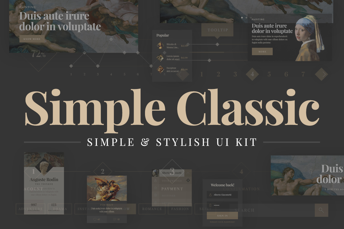 Simple-Classic-UI-Kit