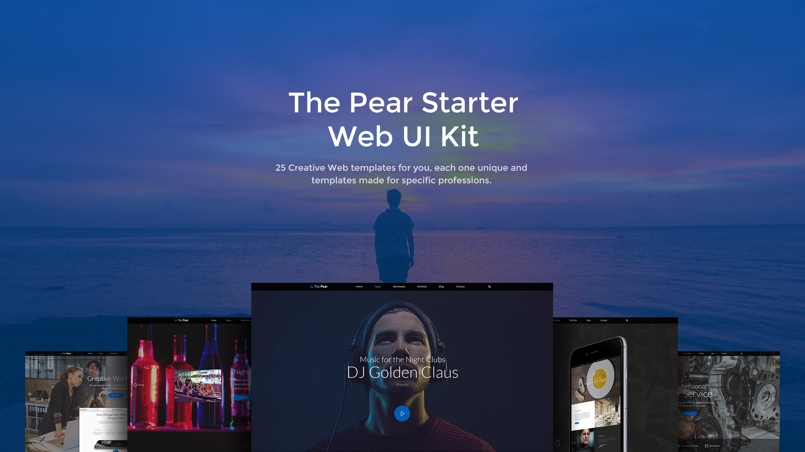 The-Pear-Starter-Web-UI-Kit