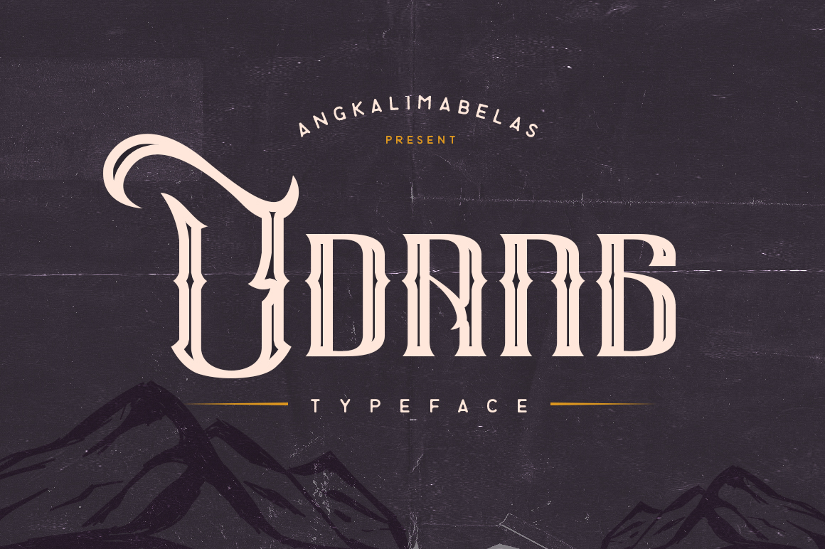 Udang-Typeface