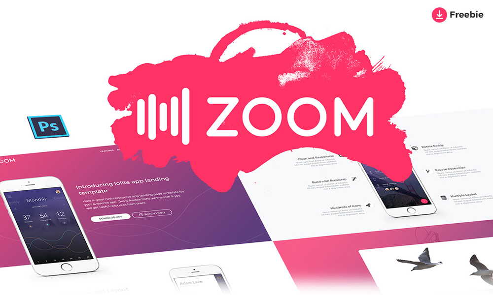 Zoom-UI-Kit-PSD