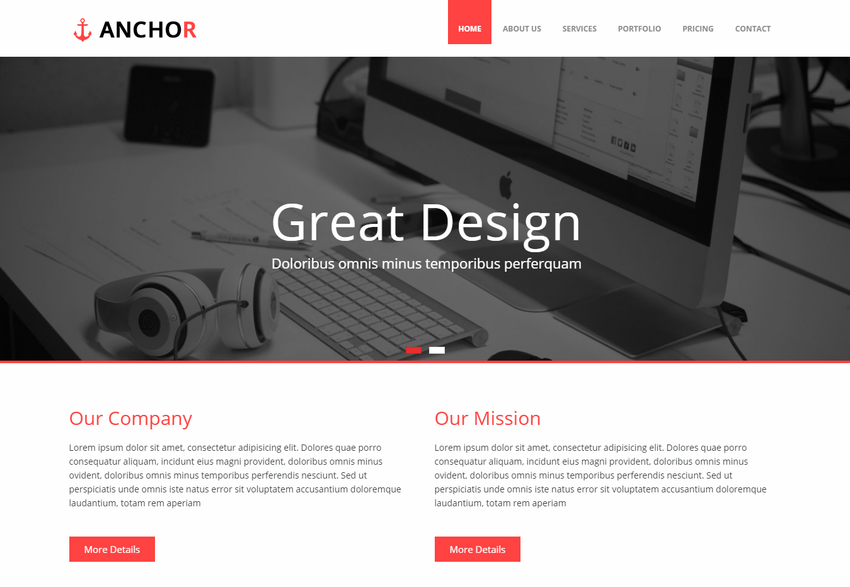 anchor-responsive-bootstrap-web-template-for-corporate