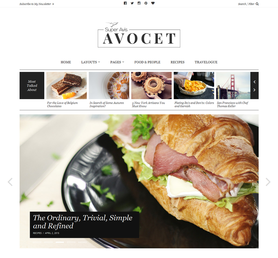 avocet-blog-wordpress-theme
