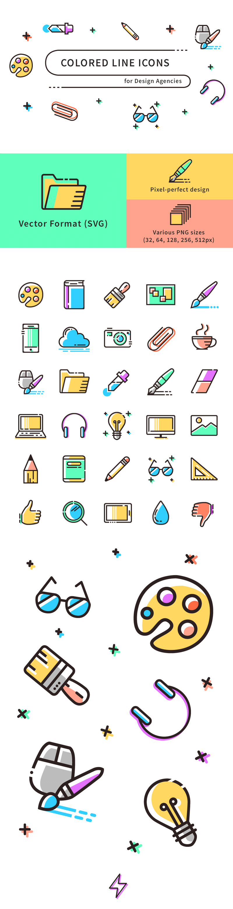colored-line-icons