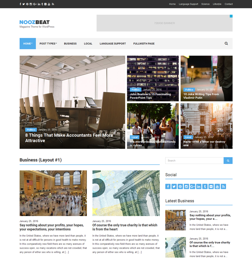 noozbeat-magazine-wordpress-theme